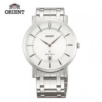 (ORIENT)ORIENT Orient Watch SLIM series slim elegant simplicity sapphire crystal quartz watch steel section FGW01006W white - 38mm