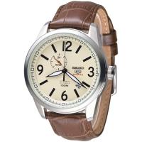 (SEIKO)SEIKO Paladin 5th 24 stone automatic mechanical men's watch - beige (SSA295K1)