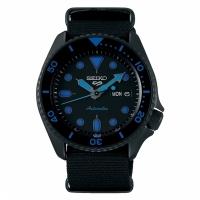 (seiko)SEIKO 5 sport sports mechanical watch / black 4R36-07G0A (SRPD81K1)