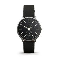(Newgate)Newgate-BLIP-Classic Small Seconds - Gentleman Black - Leather Strap -40mm