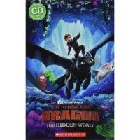 (Scholastic UK)Popcorn Readers Level 3: How to Train Your Dragon 3: The Hidden World 馴龍高手3:隱密世界(讀本附CD)(外文書)