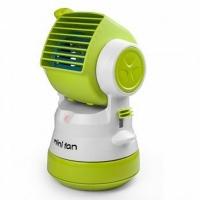 USB Vertical Hand Spray Waterless Leaf Cooler (Green)