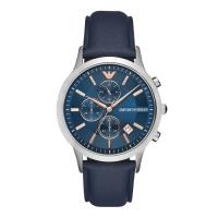 (ARMANI)EMPORIO ARMANI / New Age Three Eye Watch-Gun Grey X Blue / AR11216 / 43mm