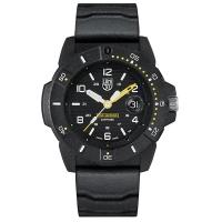 (LUMINOX)LUMINOX Remy NAVY SEAL 3600 Seal Force Watch – Black/Yellow/45mm