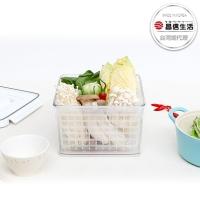 (韓國昌信生活)[Korea Changxin Life] SKYLOCK Closed Basket Type No. 2 Fresh-keeping Box-5900mlx1