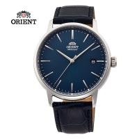 (ORIENT)ORIENT Oriental Watch DATEII Series Mechanical Watch Belt Blue RA-AC0E04L