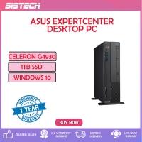 Asus ExpertCenter D6414SFF-0G4930005T Desktop PC ( Celeron G4930, 4GB, 1TB, Intel, W10 )