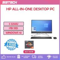 HP 22-Df0212d 21.5'' FHD Touch All-In-One Desktop PC Night Blue ( Ryzen 3 3250U, 4GB, 1TB, ATI, W10 )