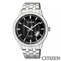 (citizen)CITIZEN Stars Black Dial Quartz Men's Watch BI1050-81E