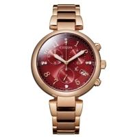 (CITIZEN)CITIZEN XC Elegant Light Advertising Model Eco-Drive Watch FB1453-55W