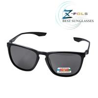 (z-pols)[Z-POLS] Brand-name style TR90 lightweight frame material with top Polarized Polarized black anti-UV400 sunglasses