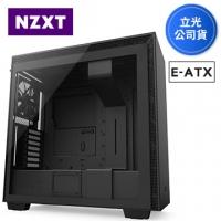 NZXT 恩傑 H710 (8小) 全透側電腦機殼 (黑色)