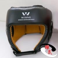 [TAITRA] [Wesing] Wushu Sanda/Thai Boxing Accessories - Headgear Black - M