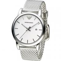 (EMPORIO ARMANI)ARMANI silver knight fashion male watch - silver (AR1812)