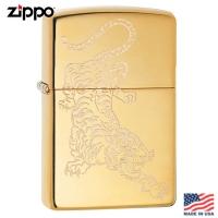 (zippo)Zippo High Polish Brass/Lustre Windproof Lighter