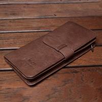 【H-CT】 Multifunctional Zipper Leather Long Folder (WT67-Y)
