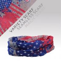 (戶外趣)Outdoor Fun] [quick-drying wicking material bicycle magic scarf scarf (1511-6 Independent Star flag)