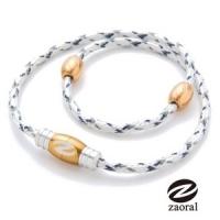 (Zaoral)Zaoral Su live magnet collar - white / gold WH / GD (L number)
