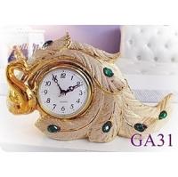 (Athena)Athena Furnishings] [? Golden Peacock clock (30cm long)