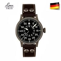 (Laco)German brand Laco Longcom leather luminous male watch manual mechanical movement watches Swiss Army watch 861 747