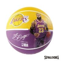 (spalding)SPALDING Spalding NBA Player Ball Lakers James LeBron Basketball No. 7