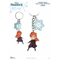(beast kingdom)Frozen II Series Egg Beat Doll Key Ring Series Anna