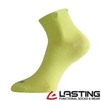 LASTING [Czech] female models wool socks (LT-WAS yellow-green / breathable / comfortable / warm / dual temperature sensing / Merino)