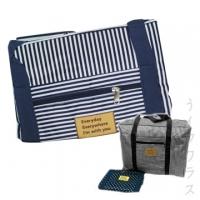 (一品川流)Hand luggage storage bag - blue