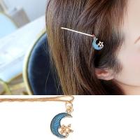 (Charme)Charme Japanese sweet wind drape shape cute word clip star blue