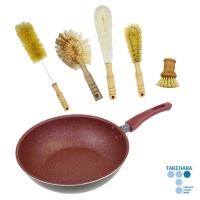 Takehara - Medical stone non-stick pan 26CM - 6 pieces set