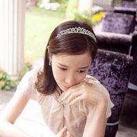 (charme)Charme Korea new sweet princess diamond crown moldings feng shui hairbands