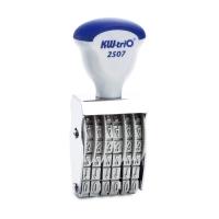 (KW-triO)KW-triO manual digital seal number 6 digits (5mm) 12507