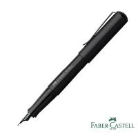(faber-castell)Faber-Castell HEXO Dark Night Black Fountain Pen