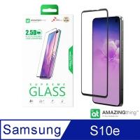 AMAZINGthing 三星 Galaxy S10e 滿版強化玻璃保護貼