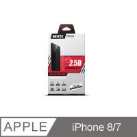 (Mixza)iPhone7 matte full version black 9H tempered glass