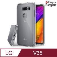 (Rearth Ringke)Ringke LG V35 [Fusion] Transparent Back Cover Anti-collision Phone Case [ Rearth Ringke Fusion ]