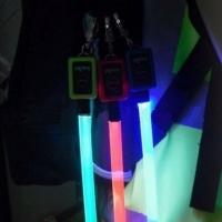 LED flat fiber safety strap