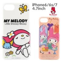 (Sanrio)Sanrio Melody iPhone6/6s/7 4.7 吋 phone case (hard). Single selection