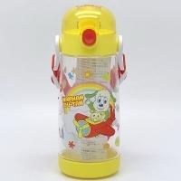 日本 Skater 阿福狗 Wan Wan &U-tan 透明按壓式 直飲水壺480ml PDDR5(2868)