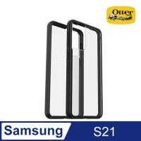 (OtterBox)OtterBox Samsung Galaxy S21 React Lightweight Anti-drop Case-Black