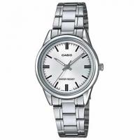 (casio)[CASIO] Selected Metropolitan Roman Lady Stainless Steel Watch-Elegant White (LTP-V005D-7A)