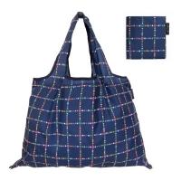 (Prairiedog)Japan Prailiedog 2Way portable storage rainproof multi-function green shopping bag - deep blue