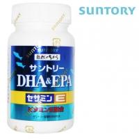 SUNTORY Suntory Fish Oil DHA&EPA+ Sesame Ming E 120 Capsules/Bottle