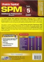 (PENERBIT ILMU BAKTI SDN BHD)PRAKTIS TOPIKAL ADDITIONAL MATHEMATICS(BILINGUAL)FORM 5 KSSM SPM 2021