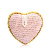 FANCL FANCL deep clean cleansing sponge (love type) - Pink (8x8.3x2.7cm)