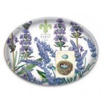 (Michel Design Works)[Michelle] Lavender rosemary glass soap dish