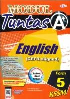 (CEMERLANG PUBLICATIONS SDN BHD)MODUL TUNTAS A+ENGLISH(CEFR-ALIGNED)FORM 5 KSSM 2021