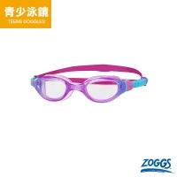 (ZOGGS)ZOGGS Junior Basic Anti-Sensitivity Anti-Fog Goggles-Pink