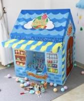 Sweet Bakery Blue Tent