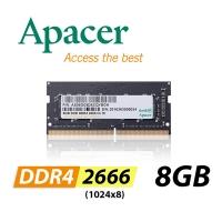 Apacer 8GB DDR4 2666 1024x8 laptop memory